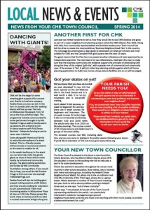 Newsletter May 2014 Cover