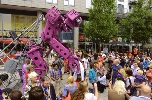 Festive Road parade