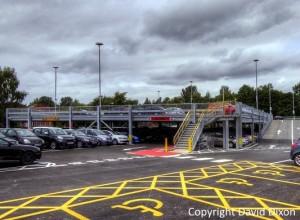 decked parking - David Dixon